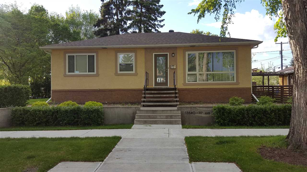 Main Photo: 13540 117 Avenue in Edmonton: Zone 07 House for sale : MLS(r) # E4066126