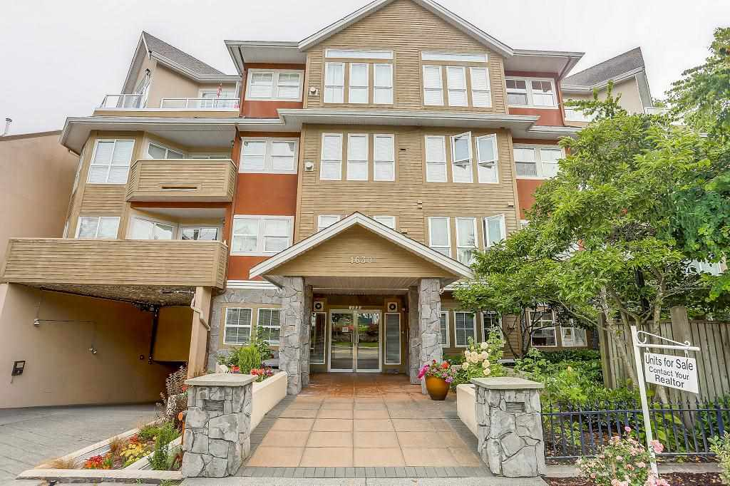 "Main Photo: 101 1630 154 Street in Surrey: King George Corridor Condo for sale in ""CARLTON COURT"" (South Surrey White Rock)  : MLS® # R2189691"
