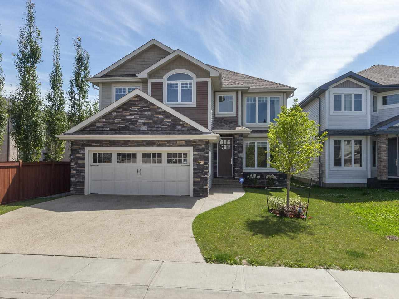 Main Photo: 425 CALLAGHAN Court in Edmonton: Zone 55 House for sale : MLS® # E4077044