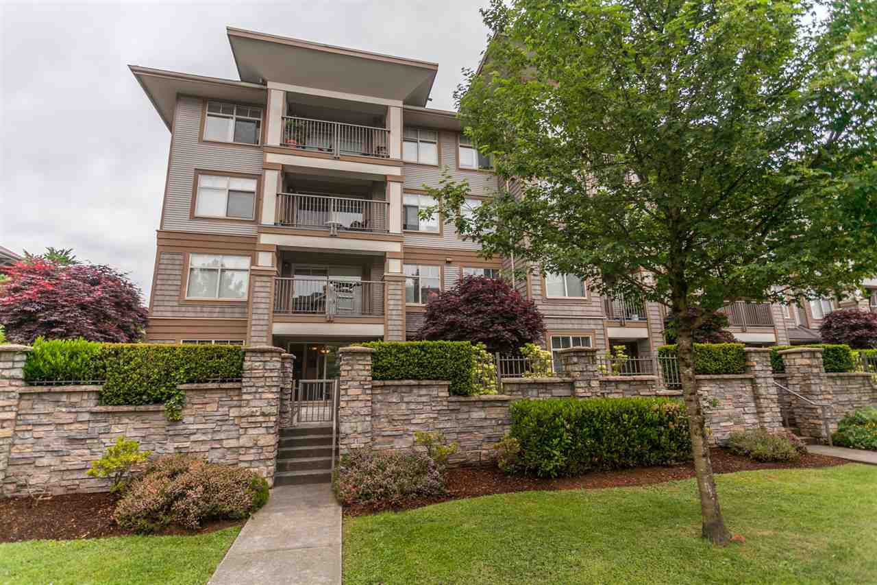 "Main Photo: 105 12238 224 Street in Maple Ridge: East Central Condo for sale in ""URBANO"" : MLS®# R2270630"
