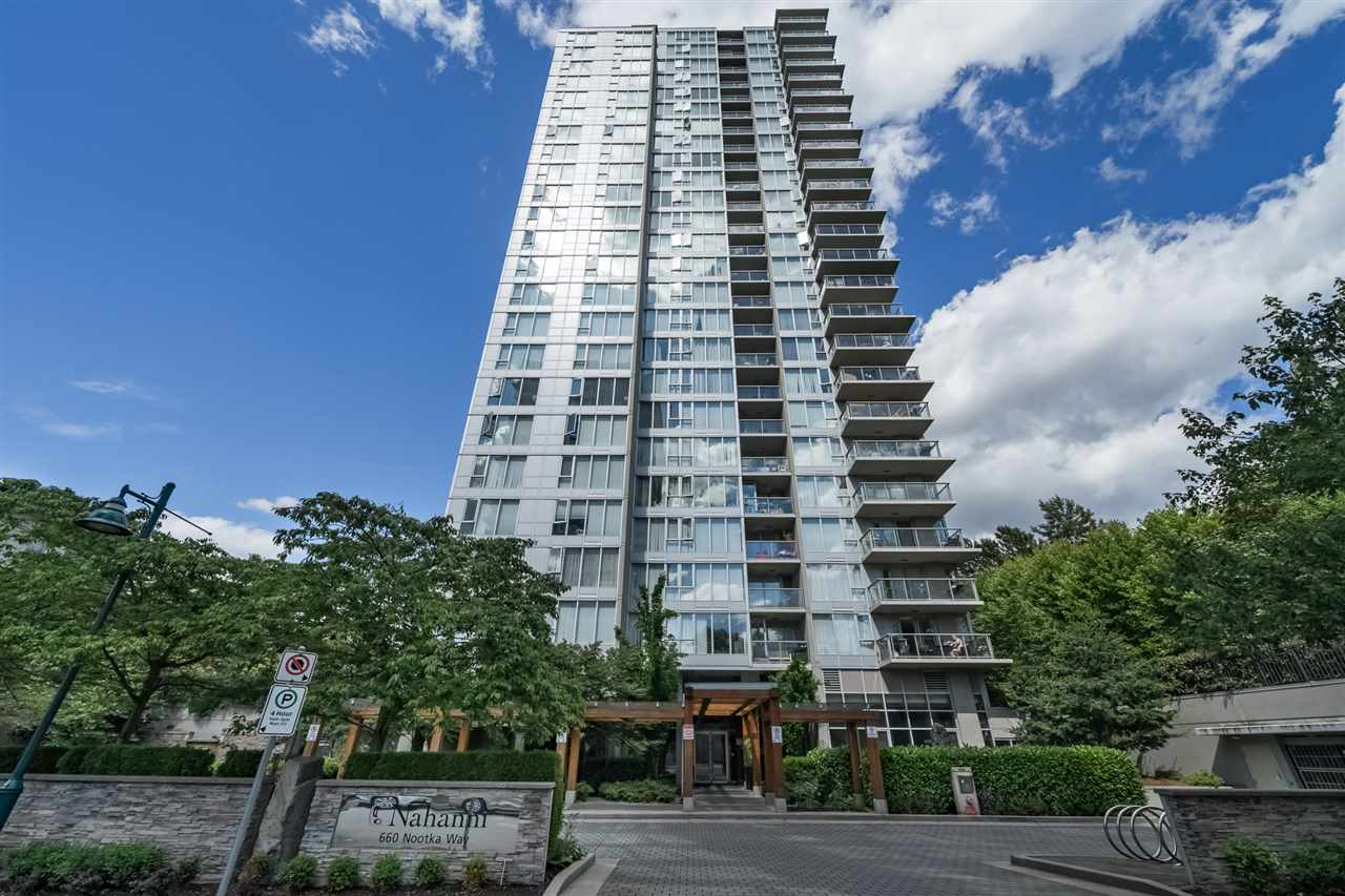 "Main Photo: 1208 660 NOOTKA Way in Port Moody: Port Moody Centre Condo for sale in ""NAHANNI"" : MLS®# R2287464"