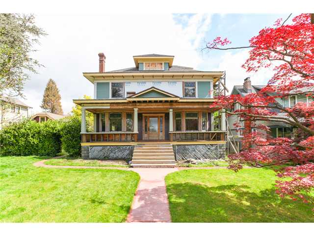 "Main Photo: 317 FIFTH Street in New Westminster: Queens Park House for sale in ""Queens Park"" : MLS®# V1120176"
