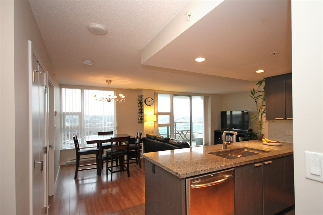 "Photo 8: 2502 2232 DOUGLAS Road in Burnaby: Brentwood Park Condo for sale in ""AFFINITY"" (Burnaby North)  : MLS® # R2019095"