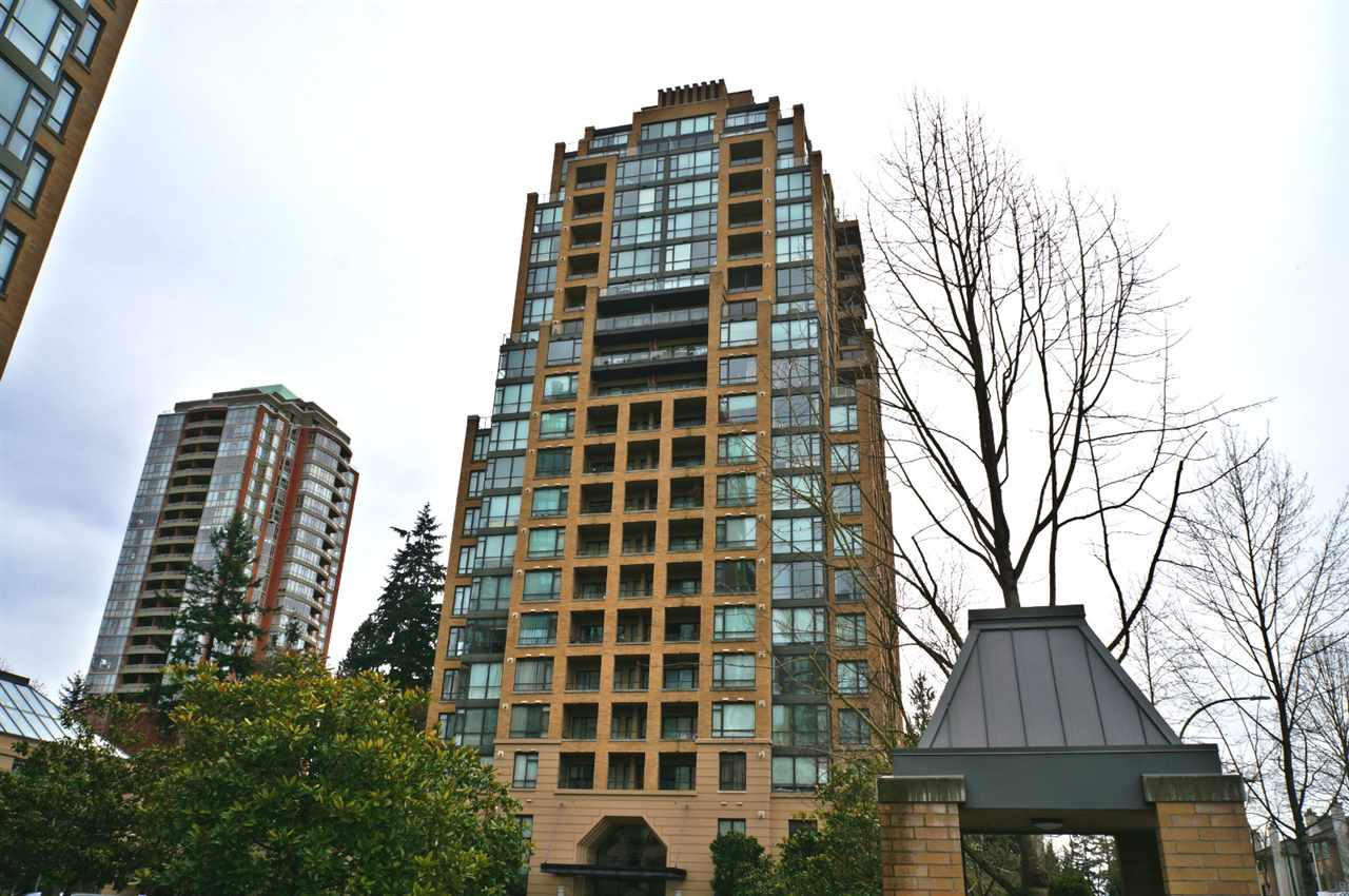 "Main Photo: 1104 7388 SANDBORNE Avenue in Burnaby: South Slope Condo for sale in ""Mayfair Place"" (Burnaby South)  : MLS® # R2153509"