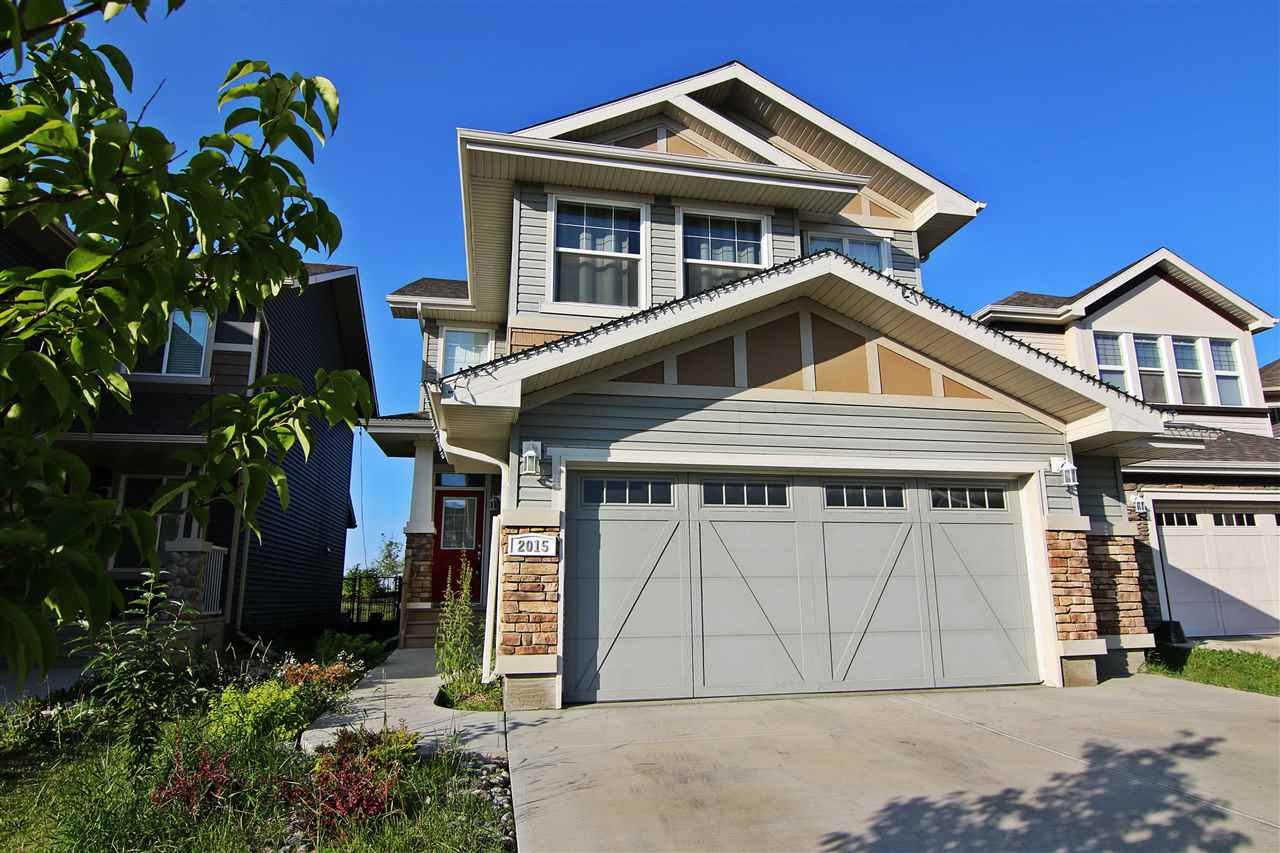 Main Photo: 2015 CHALMERS Way in Edmonton: Zone 55 House for sale : MLS(r) # E4065954
