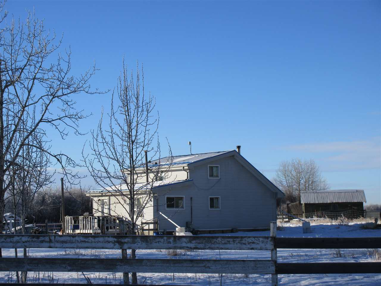 Main Photo: RR 215 Twp 590: Rural Thorhild County House for sale : MLS® # E4089960