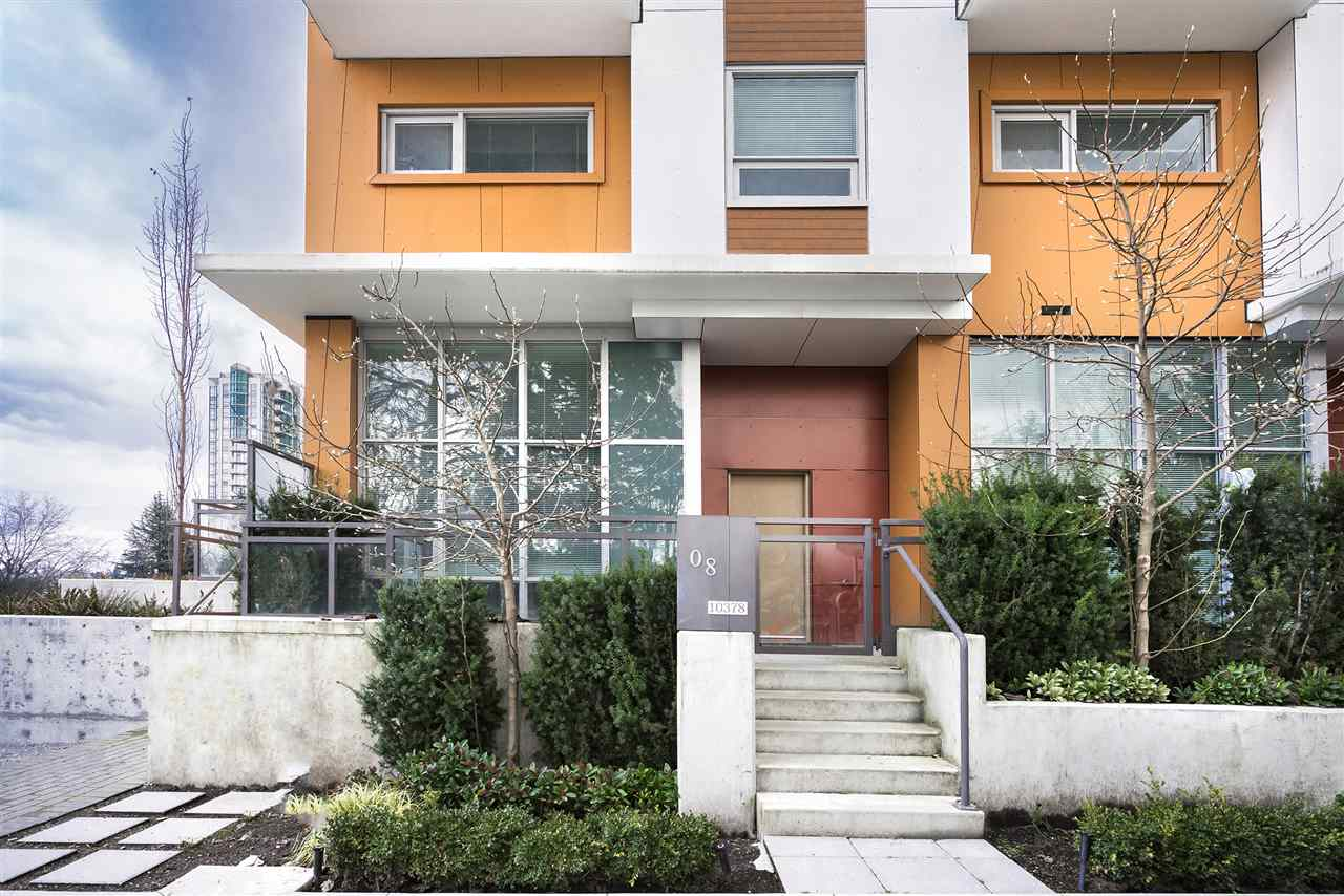 "Main Photo: TH8 13303 103A Avenue in Surrey: Whalley Townhouse for sale in ""THE WAVE"" (North Surrey)  : MLS® # R2227196"