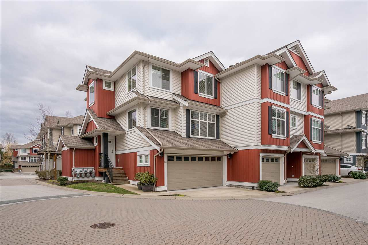 "Main Photo: 68 6956 193 Street in Surrey: Clayton Townhouse for sale in ""Edge"" (Cloverdale)  : MLS®# R2246419"