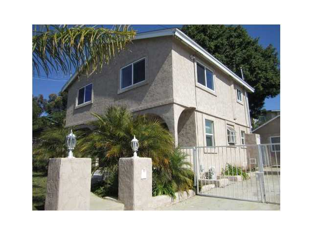Main Photo: Residential for sale : 4 bedrooms : 1227 Gertrude in San Diego