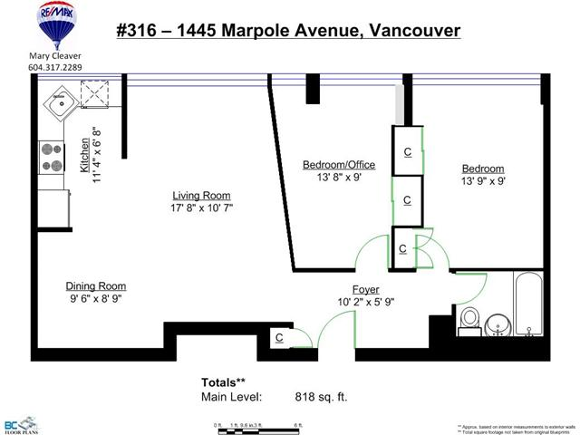 "Photo 19: 316 1445 MARPOLE Avenue in Vancouver: Fairview VW Condo for sale in ""Hycroft Towers"" (Vancouver West)  : MLS(r) # V1055467"