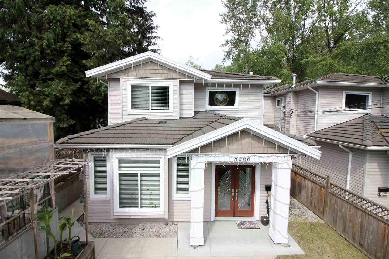 Main Photo: 5286 CANADA Way in Burnaby: Burnaby Lake House 1/2 Duplex for sale (Burnaby South)  : MLS®# R2085258