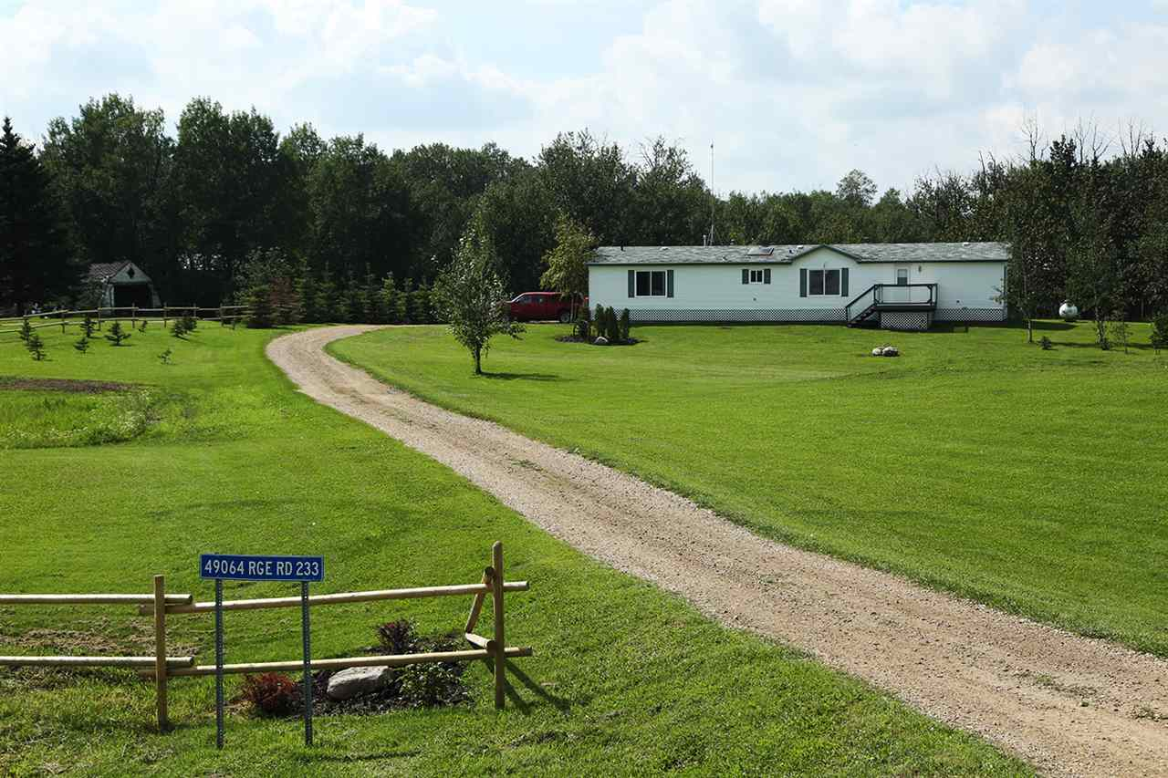 Main Photo: 49064 RR 233: Rural Leduc County House for sale : MLS(r) # E4033565