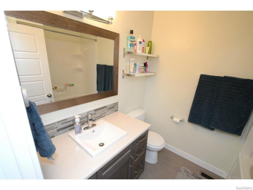 Upgraded main bathroom