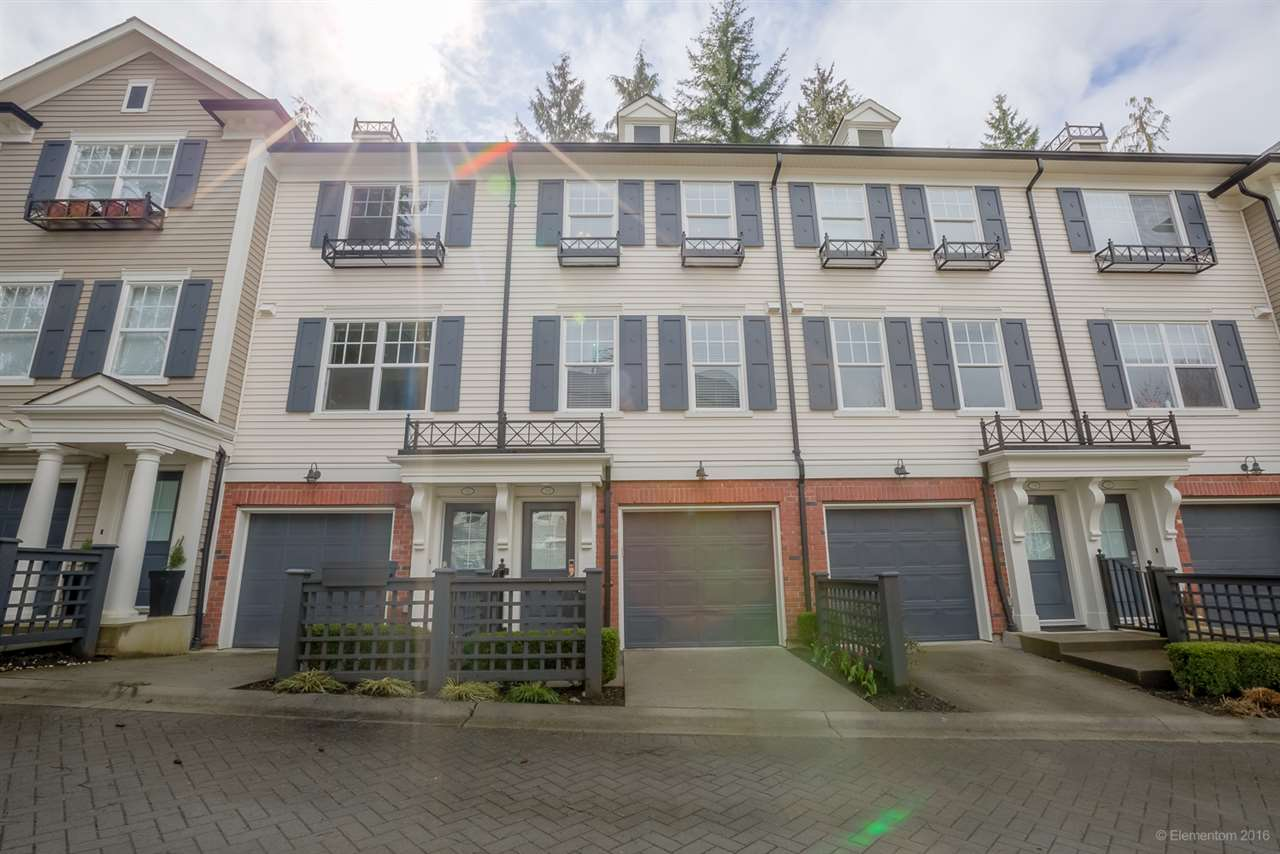 "Main Photo: 13 102 FRASER Street in Port Moody: Port Moody Centre Townhouse for sale in ""CORBEAU BY  MOSAIC"" : MLS®# R2155114"
