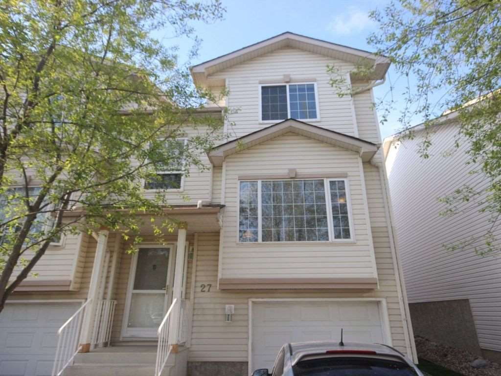 Main Photo: 27 9935 167 Street in Edmonton: Zone 22 Townhouse for sale : MLS(r) # E4064451