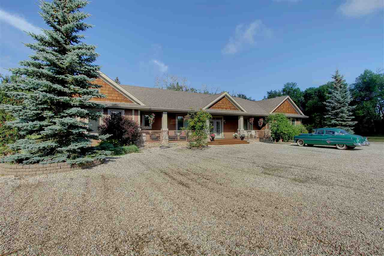 Main Photo: 51320 RGE RD 10 Road: Rural Parkland County House for sale : MLS® # E4075470