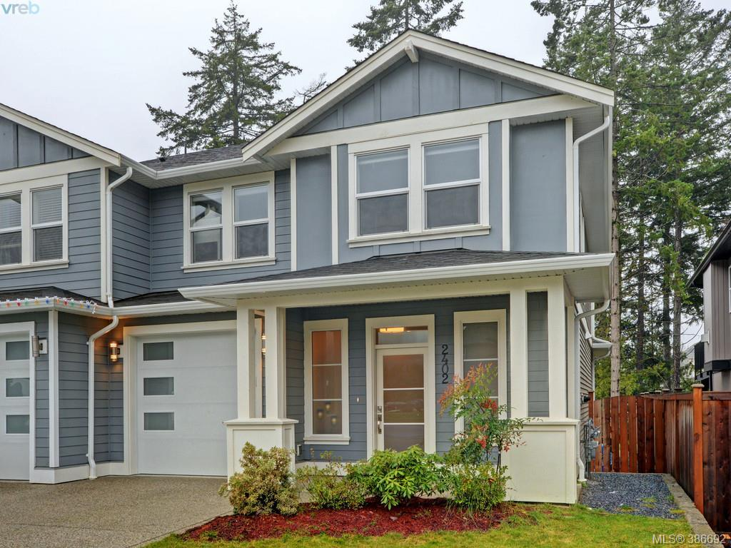 Main Photo: 2402 Bellamy Road in VICTORIA: La Thetis Heights Strata Duplex Unit for sale (Langford)  : MLS®# 386692