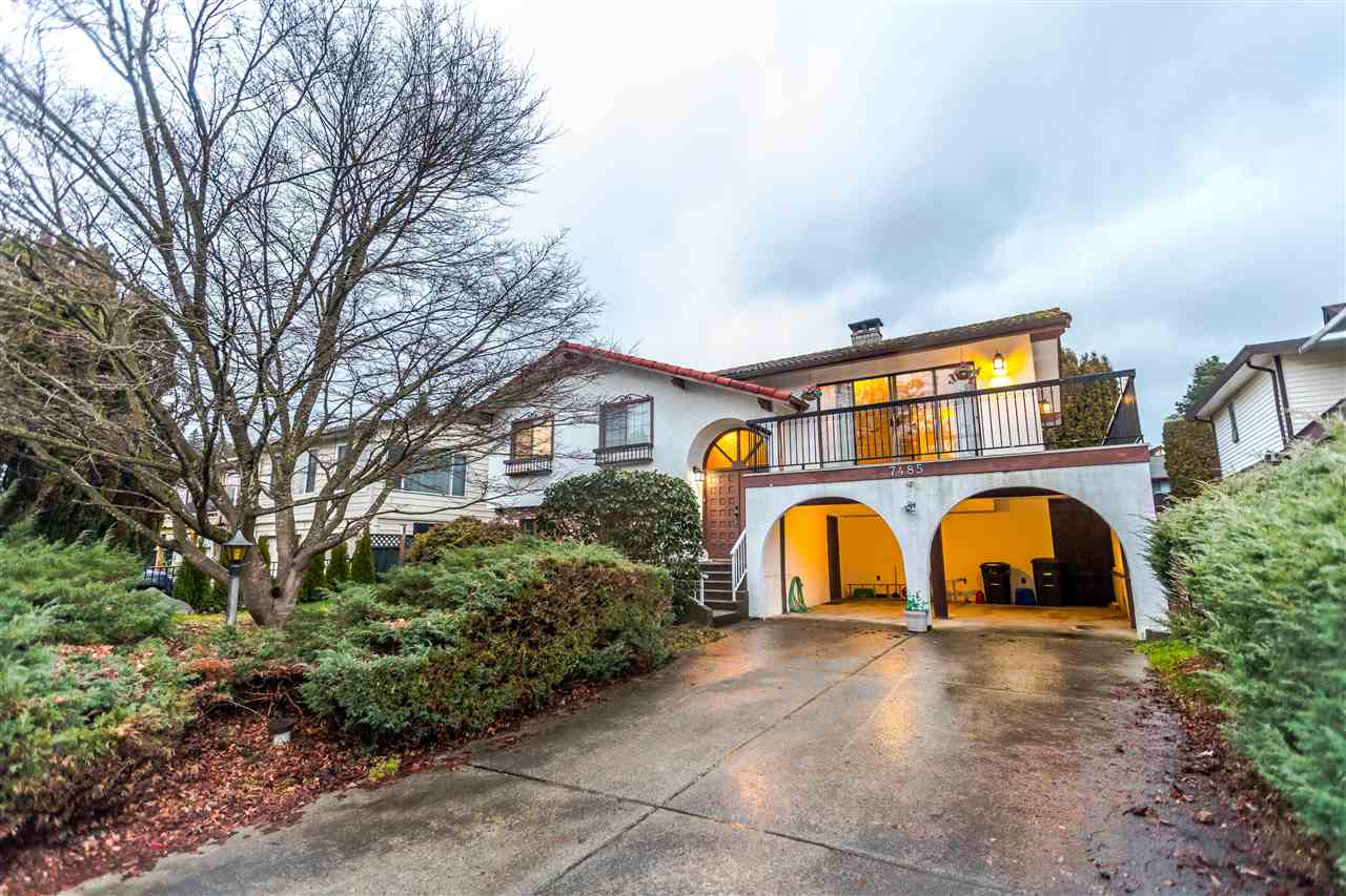 Main Photo: 7485 LAWRENCE Drive in Burnaby: Montecito House for sale (Burnaby North)  : MLS®# R2236014