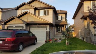 Main Photo: 17121 126 Street in Edmonton: Zone 27 House Half Duplex for sale : MLS®# E4123714