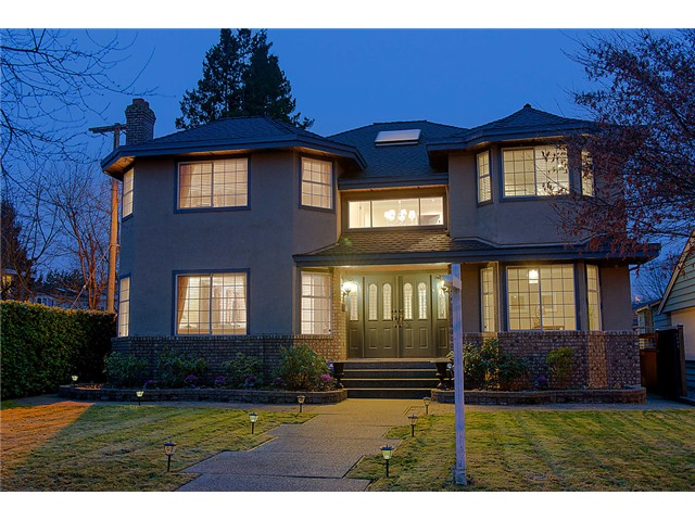 "Main Photo: 4377 VALLEY DR in Vancouver: Quilchena House for sale in ""Quilchena"" (Vancouver West)  : MLS®# V1042736"