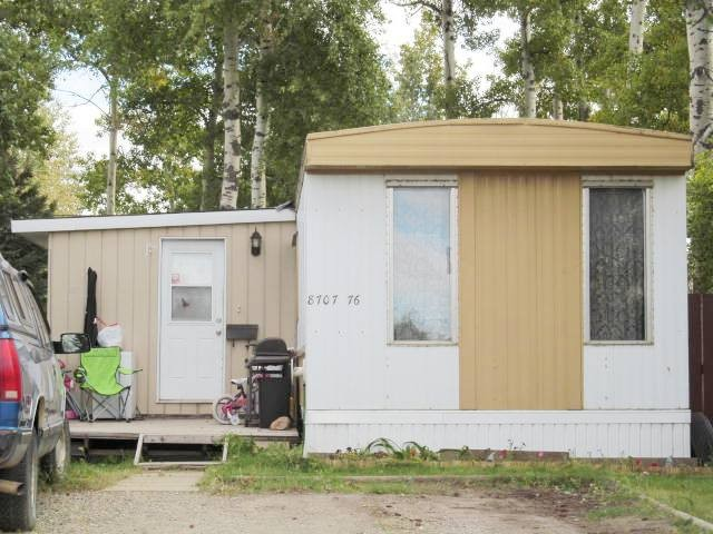 Main Photo: 8707 76TH Street in Fort St. John: Fort St. John - City SE Manufactured Home for sale (Fort St. John (Zone 60))  : MLS®# N234783
