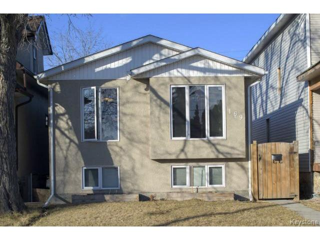 Main Photo: 169 Gordon Avenue in WINNIPEG: East Kildonan Residential for sale (North East Winnipeg)  : MLS® # 1507266