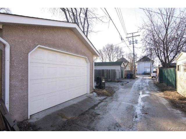 Photo 20: 169 Gordon Avenue in WINNIPEG: East Kildonan Residential for sale (North East Winnipeg)  : MLS® # 1507266