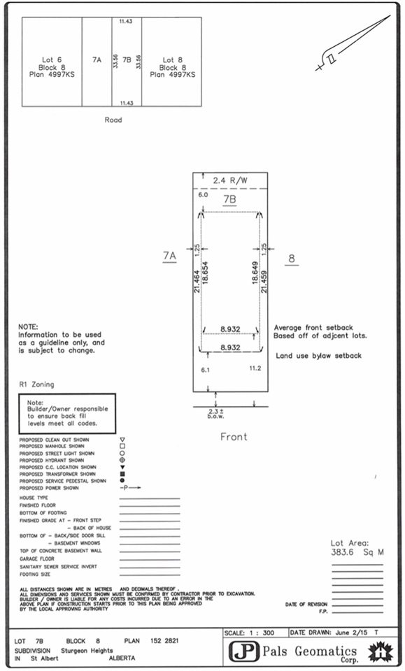 Lot Survey Plan