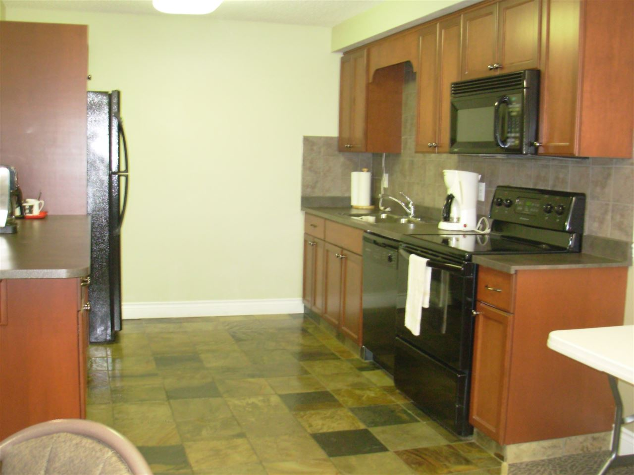 The spacious social room even has a full kitchen!