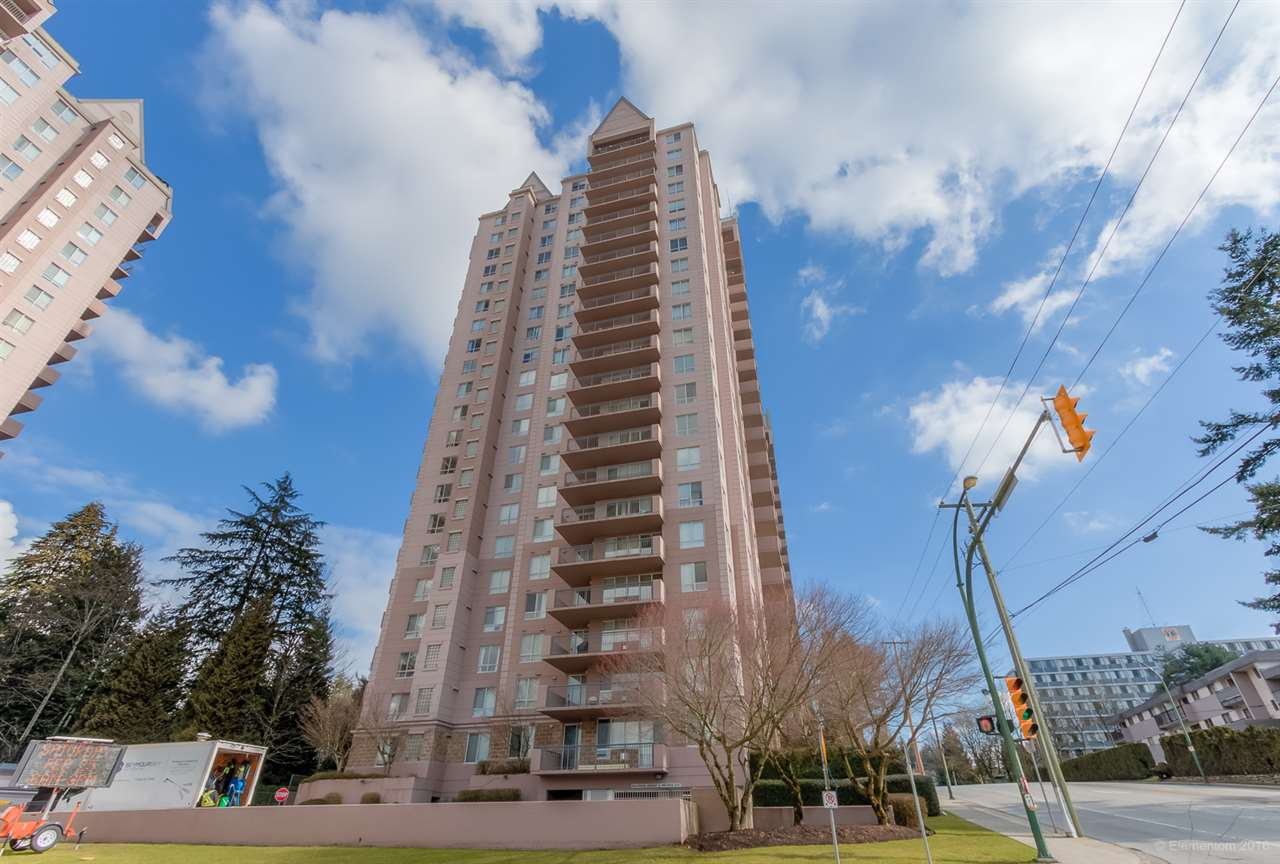"Main Photo: 1 551 AUSTIN Avenue in Coquitlam: Coquitlam West Condo for sale in ""BROOKMERE TOWERS"" : MLS(r) # R2141547"