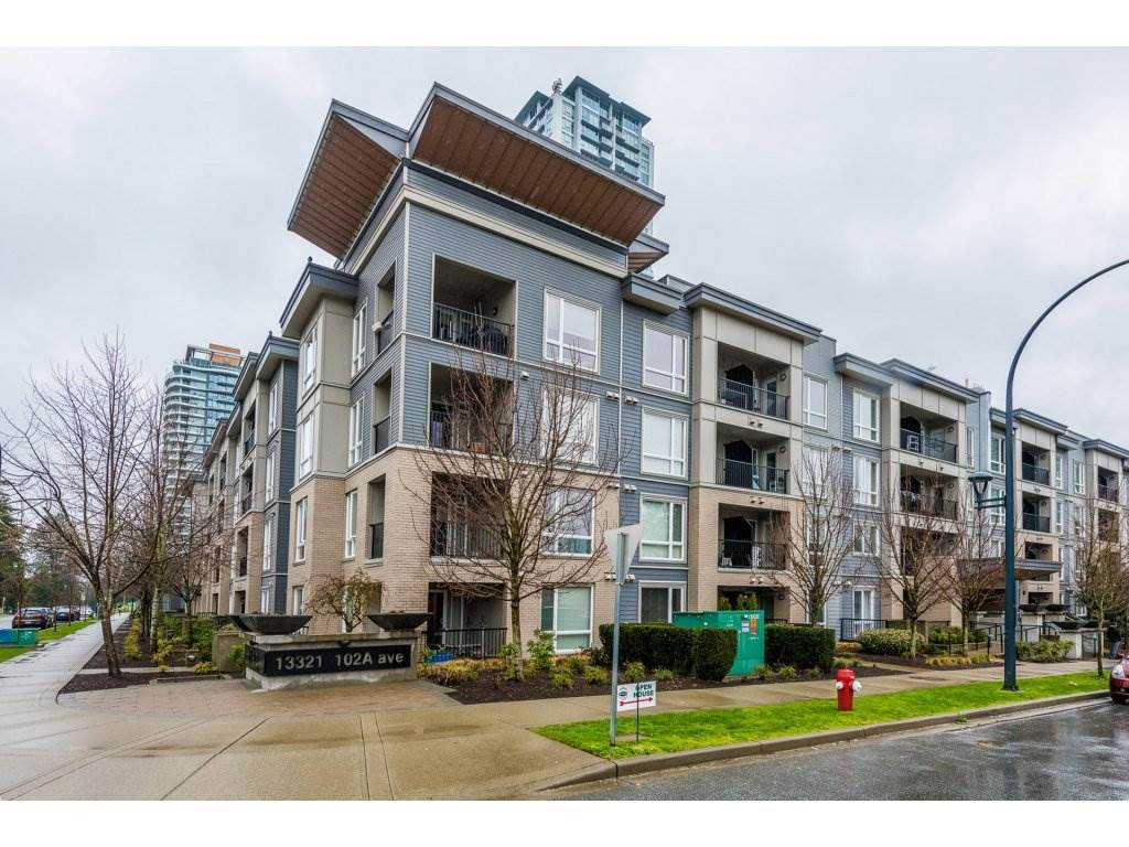 "Main Photo: 115 13321 102A Avenue in Surrey: Whalley Condo for sale in ""AGENDA"" (North Surrey)  : MLS® # R2154344"