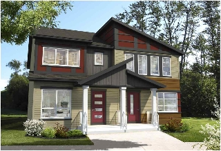 Main Photo: 2215 Price Lane in Edmonton: Zone 55 House Half Duplex for sale : MLS(r) # E4060441