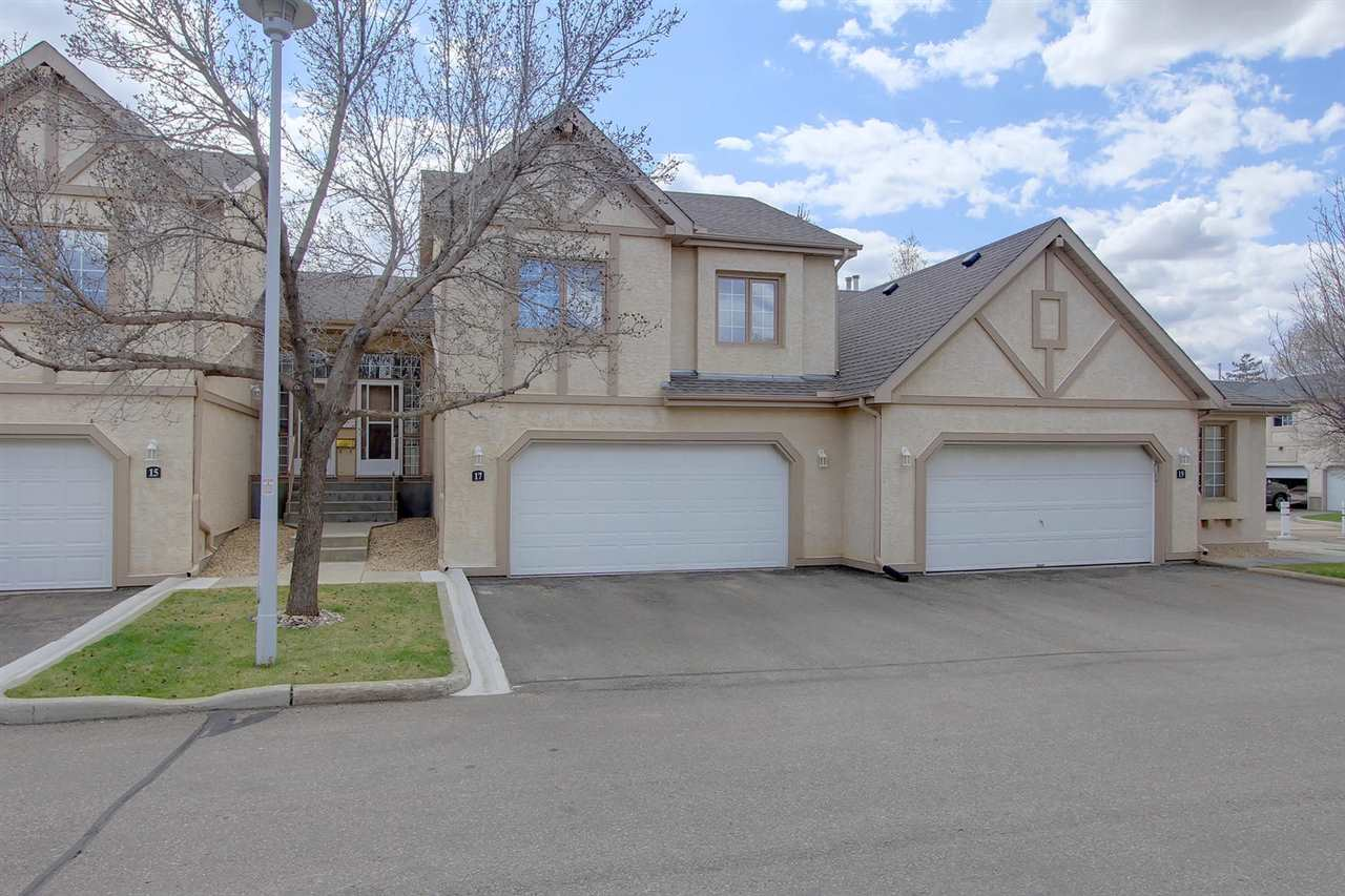 Main Photo: 17 57A ERIN RIDGE Drive: St. Albert Townhouse for sale : MLS(r) # E4063047