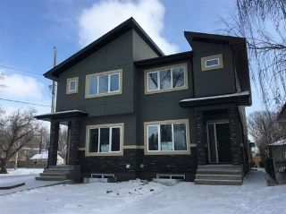 Main Photo: 8142 78 Avenue in Edmonton: Zone 17 House Half Duplex for sale : MLS® # E4085921