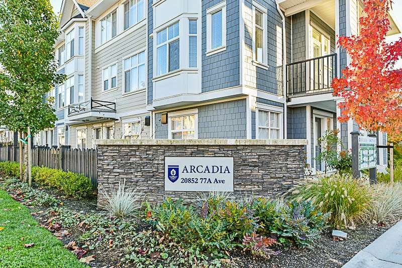 Main Photo: 26 20852 77A AVENUE in Langley: Willoughby Heights Townhouse for sale : MLS® # R2218957