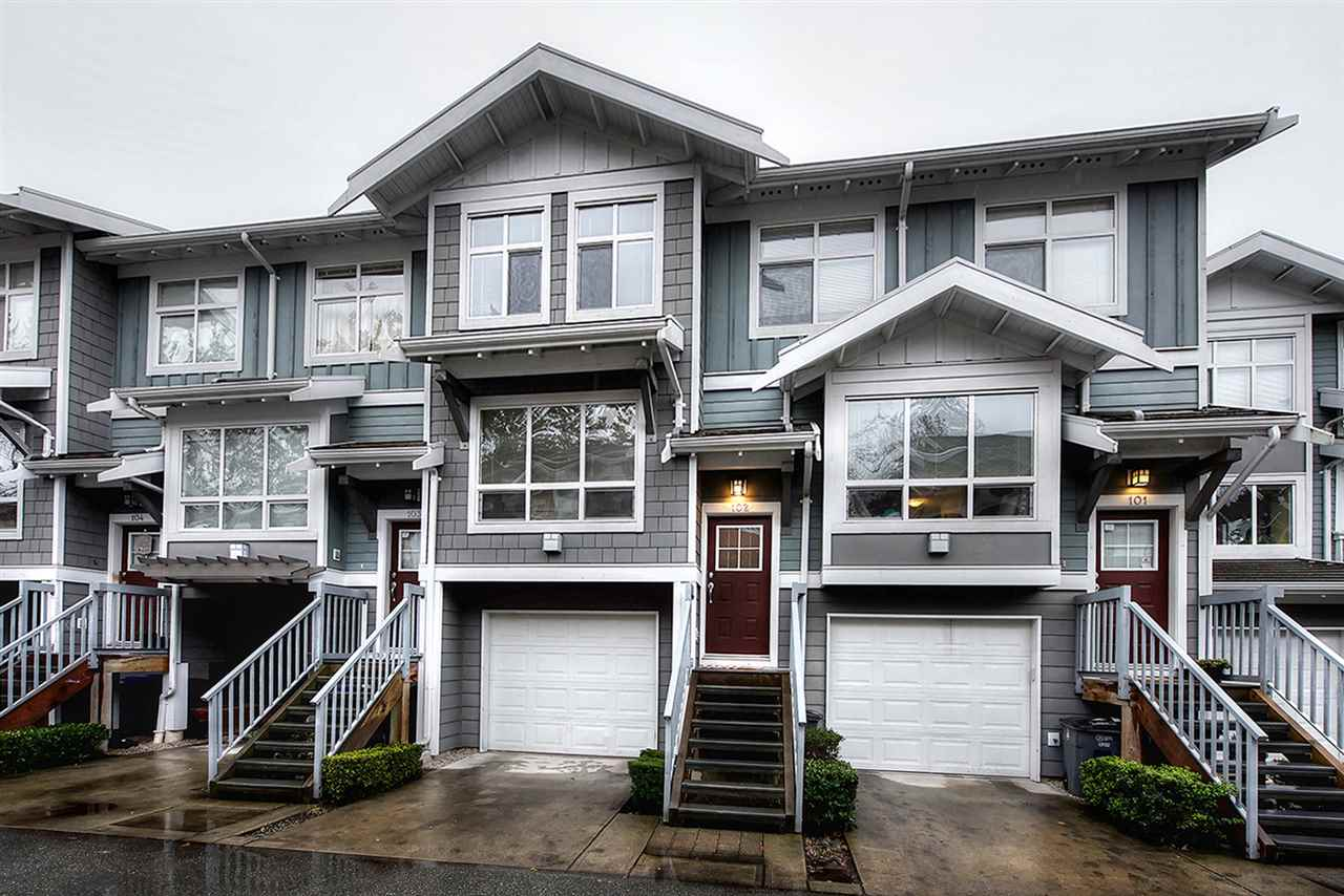 "Photo 1: Photos: 102 15168 36 Avenue in Surrey: Morgan Creek Townhouse for sale in ""SOLAY"" (South Surrey White Rock)  : MLS® # R2226538"