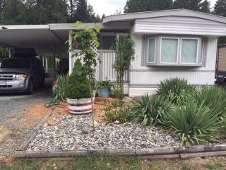 "Main Photo: 118 3942 COLUMBIA VALLEY Road in Cultus Lake: Columbia Valley Manufactured Home for sale in ""CULTUS LAKE VILLAGE"" : MLS®# R2255472"