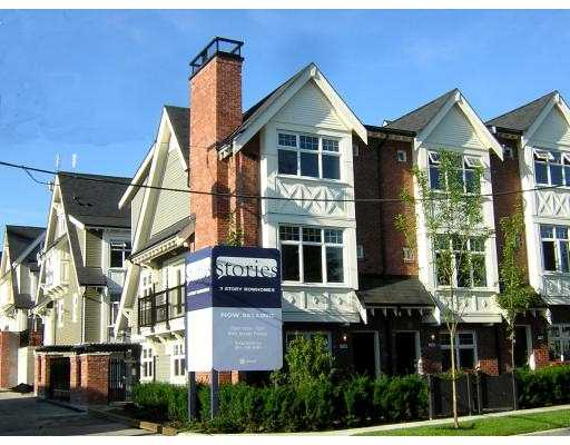 "Main Photo: 3768 WELWYN ST in Vancouver: Victoria VE Townhouse for sale in ""STORIES"" (Vancouver East)  : MLS® # V597509"