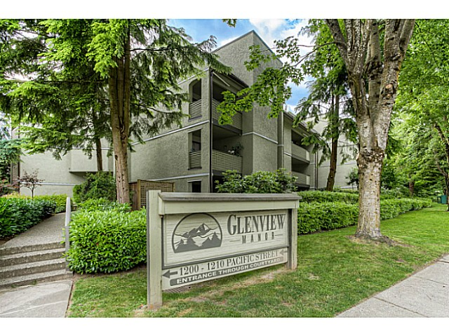 "Main Photo: 217 1200 PACIFIC Street in Coquitlam: North Coquitlam Condo for sale in ""GLENVIEW MANOR"" : MLS® # V1070671"
