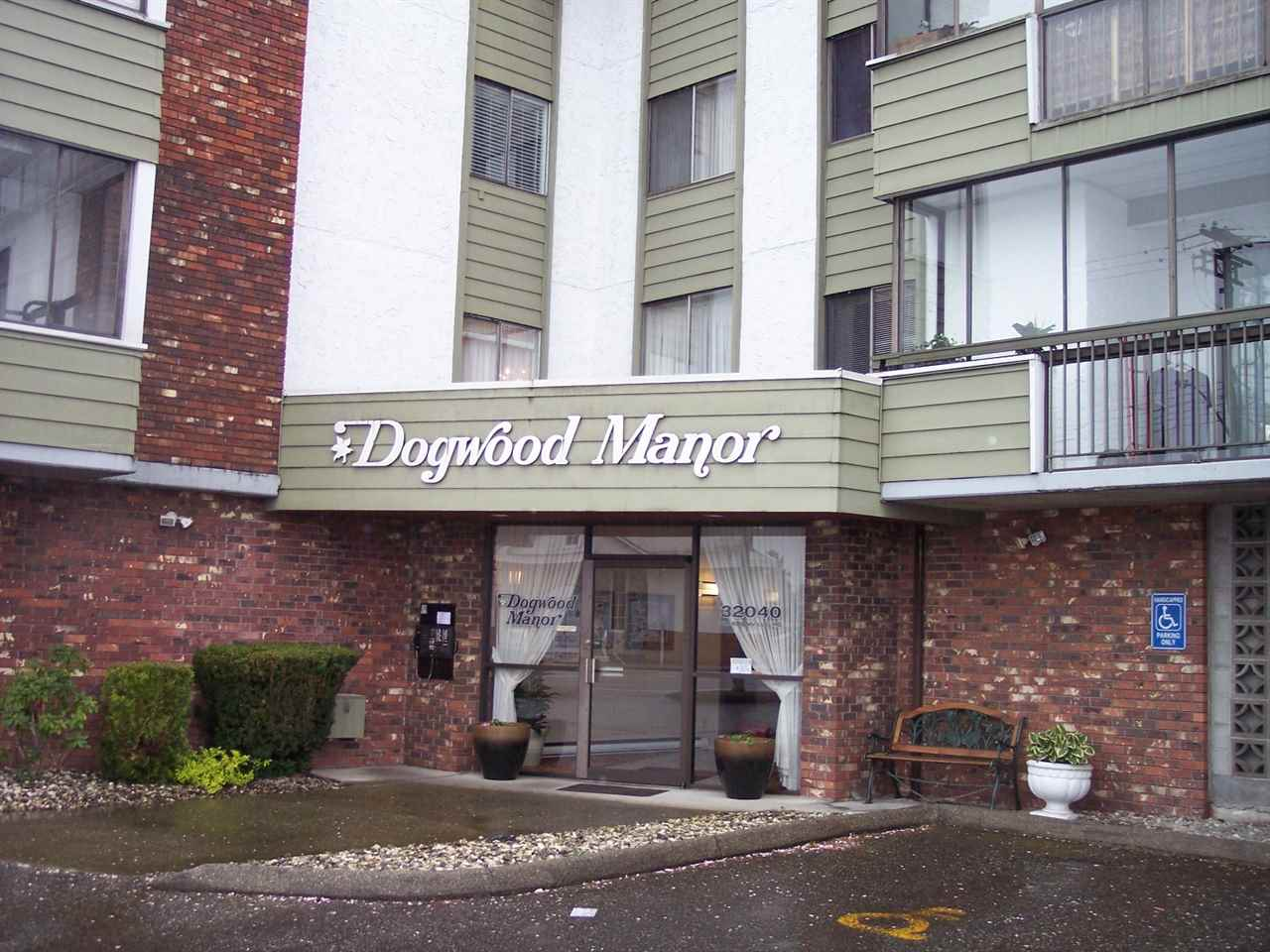"Main Photo: 201 32040 PEARDONVILLE Road in Abbotsford: Abbotsford West Condo for sale in ""DOGWOOD MANOR"" : MLS® # R2056716"