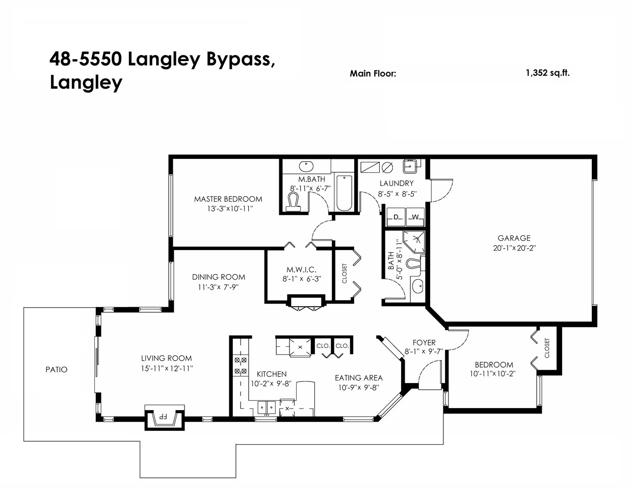 "Main Photo: 48 5550 LANGLEY Bypass in Langley: Langley City Townhouse for sale in ""Riverwynde"" : MLS(r) # R2086657"