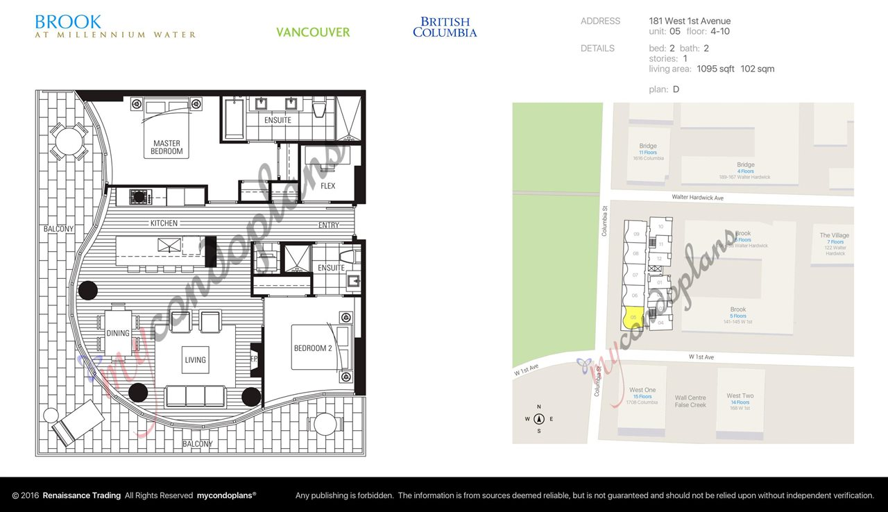 "Photo 14: 505 181 W 1ST Avenue in Vancouver: False Creek Condo for sale in ""Brook"" (Vancouver West)  : MLS(r) # R2095744"