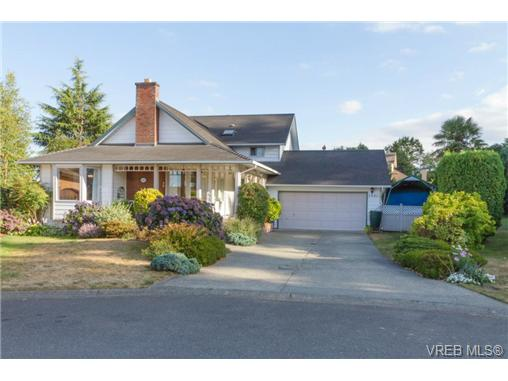 Main Photo: 2441 Costa Vista Place in VICTORIA: CS Tanner Single Family Detached for sale (Central Saanich)  : MLS® # 368863