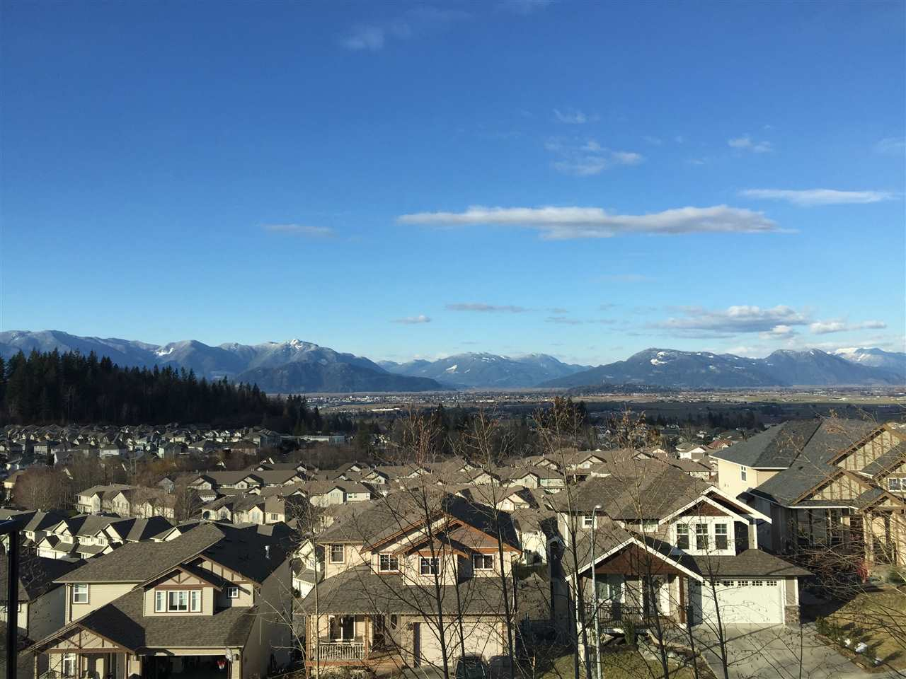 Great view of Chilliwack