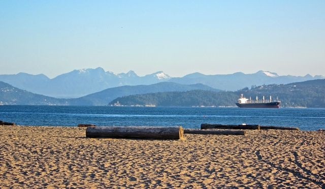 Jericho Beach - an easy walk away