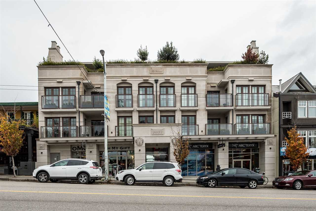 "Main Photo: 205 2035 W 4TH Avenue in Vancouver: Kitsilano Condo for sale in ""VERMEER"" (Vancouver West)  : MLS® # R2221841"