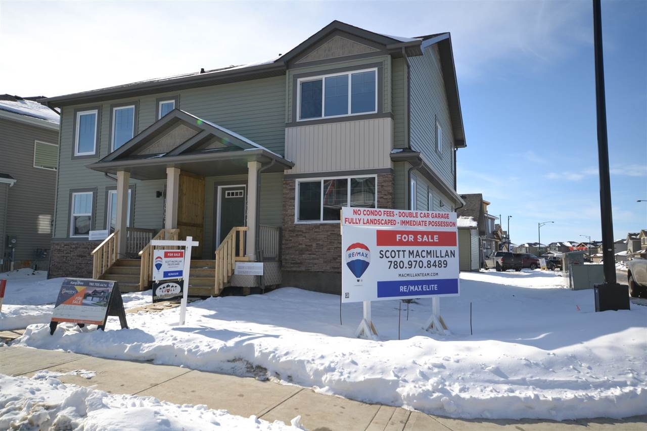 Main Photo:  in Edmonton: Zone 56 House Half Duplex for sale : MLS® # E4092609