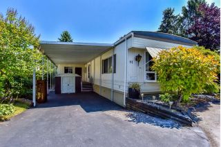 "Main Photo: 91 15875 20 Avenue in Surrey: King George Corridor Manufactured Home for sale in ""SEA RIDGE BAYS"" (South Surrey White Rock)  : MLS®# R2291345"