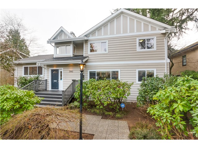 "Main Photo: 3982 W 33RD Avenue in Vancouver: Dunbar House for sale in ""Dunbar"" (Vancouver West)  : MLS® # V1099859"