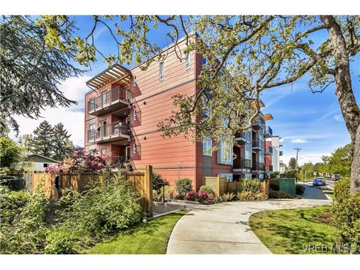 Main Photo: 204 4030 Borden Street in VICTORIA: SE Lake Hill Condo Apartment for sale (Saanich East)  : MLS® # 363943